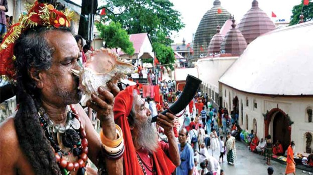 aghori babas at Kamakhya temple