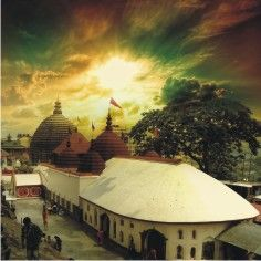 painting of Kamakhya Temple