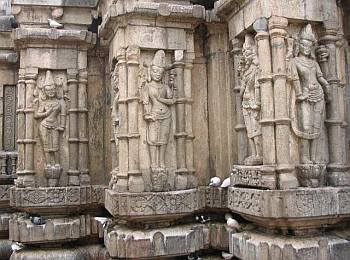 More sculptures at Kamakhya Temple